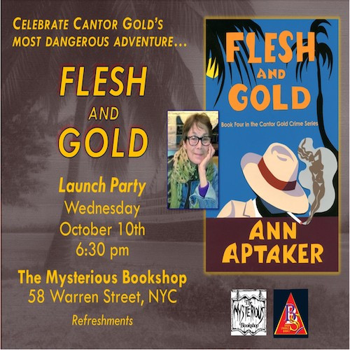 Flesh and Gold Launch Party