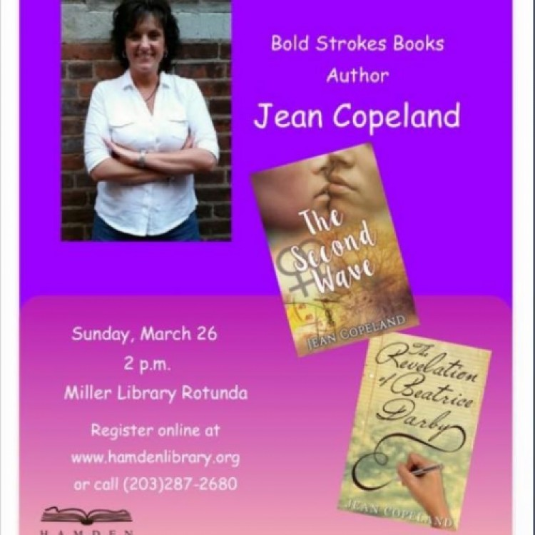 Jean Copeland Reading/Signing