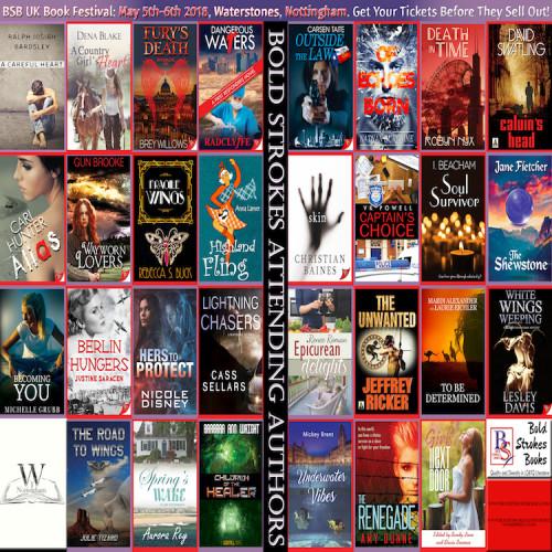 9th Annual Bold Strokes UK Book Festival